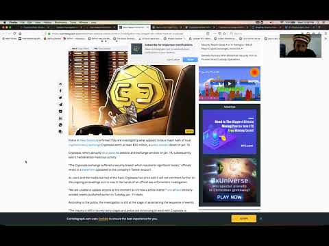 Cryptopia $3.5 million dollar Hack update! Electroneum safe so far? Binance recovers some Funds.