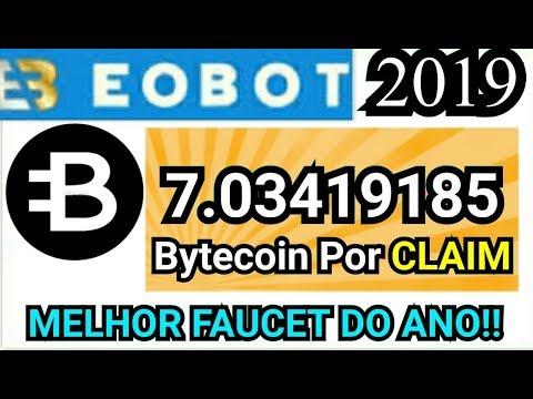 Eobot Pagando 7,00000000 Bytecoin ( BCN ) Por Claim 2019