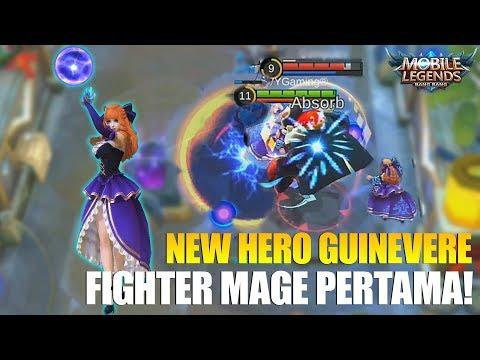 NEW HERO GUINEVERE MS VIOLET – FIGHTER MAGE PERTAMA KALI YANG ADA DI MOBILE LEGENDS