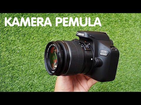 Canon EOS 4000d Kamera Pemula 4 Jutaan