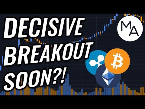 DECISIVE Breakout Coming For Bitcoin & Crypto Markets! BTC, ETH, XRP, BCH & Cryptocurrency News!