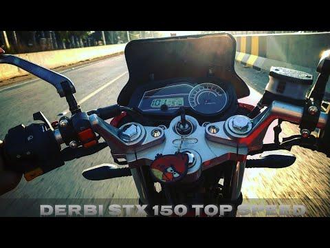 Derbi Stx 150 Top Speed