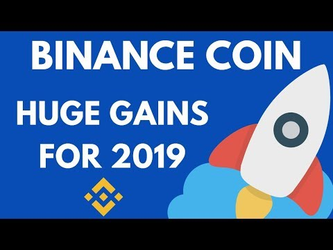 Binance Coin BNB – TOP PICK for 2019 for HUGE GAINS?