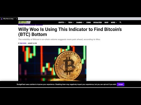 Bitcoin Bottom Out ? Willy Woo Bitcoin Volatility Index | EOS Airdrops dApps SLAM