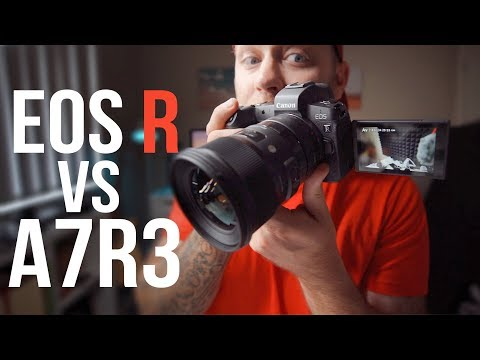 Canon EOS R vs Sony A7RIII – I Gave it a Shot + RAW Downloads