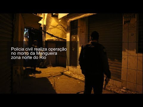 Operação da Policia Civil contra o tráfico no morro da Mangueira – BCN NEWS