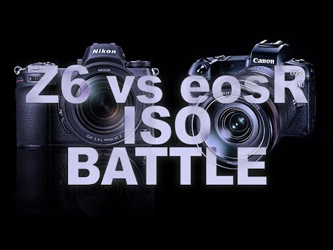 Nikon Z6 vs Canon EOS R HIGH ISO [z6 vs eos r Low Light Test]