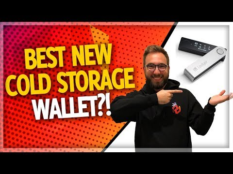 Ledger Nano X (NEW Hardware Wallet for Cryptocurrency!)