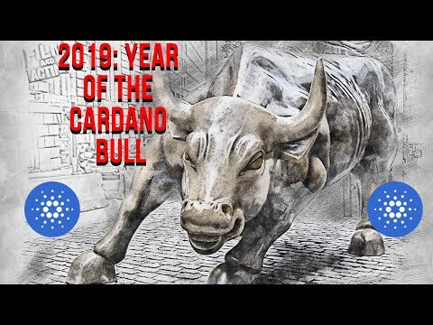 2019–Year of the Cardano Bull #ADA #Cardano #Altcoins
