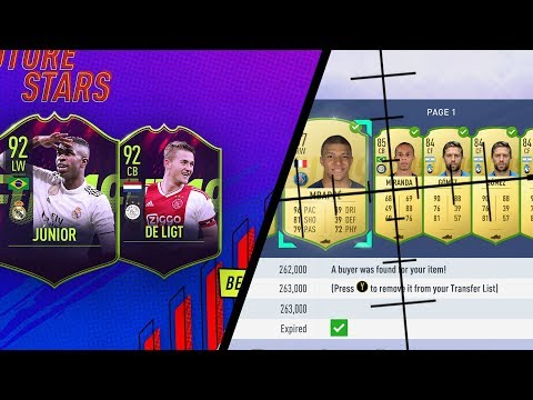 OMG! MAKE 100K A DAY WITH THE *NEW* FUTURE STARS PROMO (FIFA 19 BEST SNIPING FILTERS & MASS BIDDING)