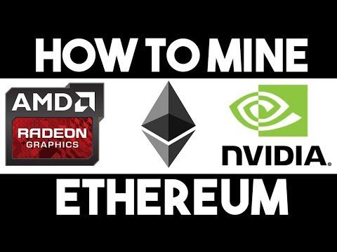 How To Mine Ethereum On Windows 10 | Easiest Method 2019 (Nvidia & AMD)