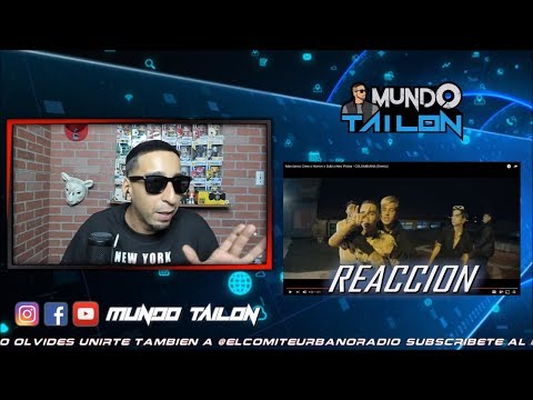 [Reaccion] Duki x Neo Pistea x Homer x Marcianos Crew – COLOMBIANA (Remix)