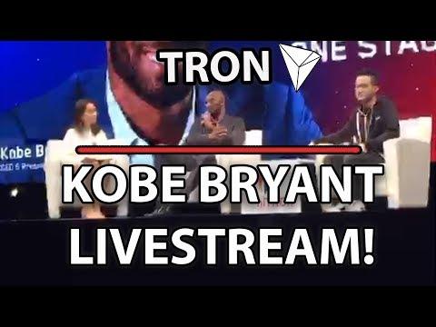 Tron (TRX) Kobe Bryant & Justin Sun Live At niTron Summit!