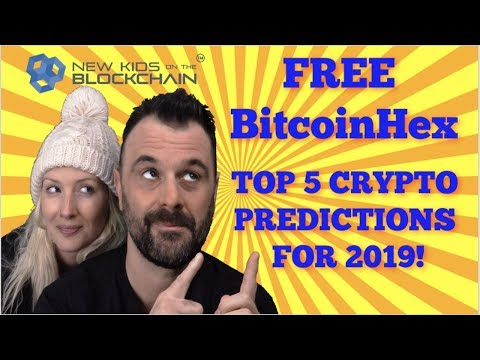 CRYPTO PREDICTIONS 2019 | FREE BITCOIN HEX | TRON DEVELOPMENTS