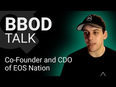 Stephane Bisson – EOS Nation : What is the future of EOS cryptocurrency