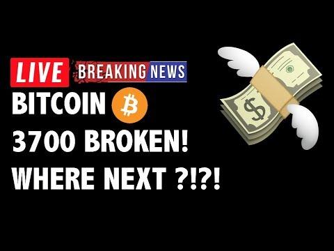 🚀 Bitcoin (BTC) BROKE 3700! WHERE NEXT?! – Crypto Market Trading Analysis & Cryptocurrency News
