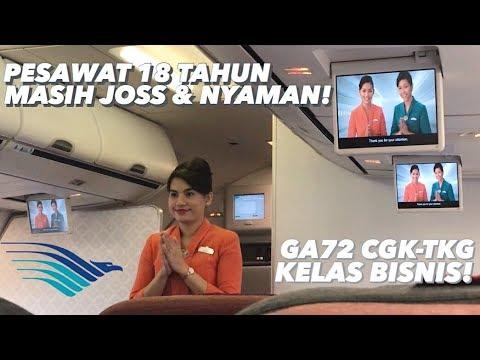 """Garuda Indonesia Kelas Bisnis """"Echo Series"""" Ada TV Gantungnya! + Bahas Harga Tiket Pesawat Naik!"""