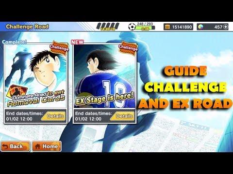 APA AJA SIH STAGE – STAGE YANG ADA DI CHALLENGE AND EX ROAD? – Captain Tsubasa: Dream Team
