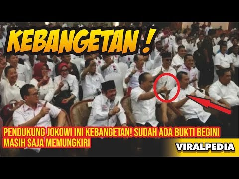 Pendukung Jokowi Ini Kebangetan! Sudah Ada Bukti Begini Masih Saja Memungkiri