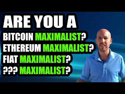 Crypto Maximalism – Are you a Maximalist? Bitcoin, Ethereum, are we seeing a pattern?