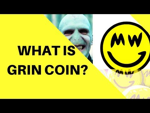 WHAT IS THE GRIN COIN CRYPTOCURRENCY PROJECT? (GRIN COIN LAUNCH)