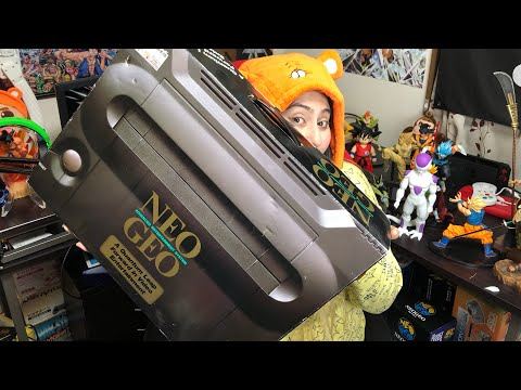 RE-UNBOXING NEO GEO AES NA CAIXA