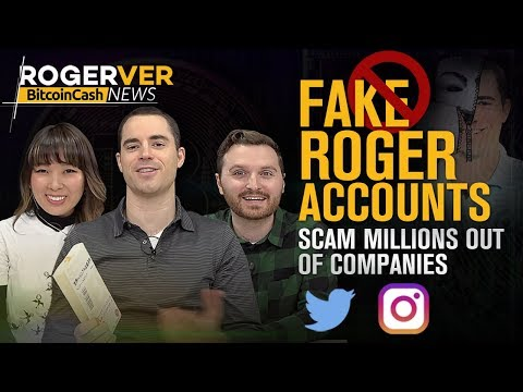 Beware Of Fake Roger Ver Accounts! & Hiding Your Transactions Got Easier!