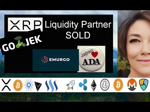 Ripple XRP Liquidity Partner Coins.ph Sold Go-Jek, Japan Loves ADA, SBI Holdings Smart Cash AG