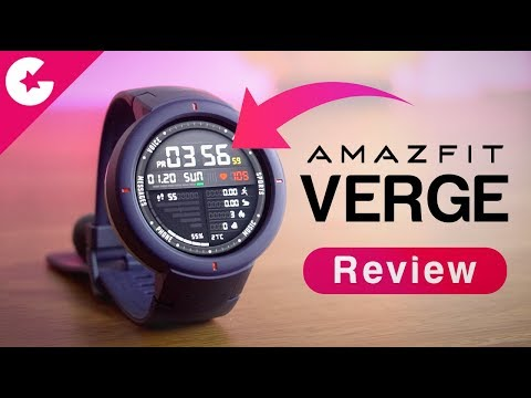 Xiaomi Huami Amazfit Verge Review – Best Budget Smartwatch With Premium Features!!
