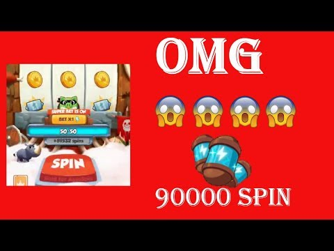 OMG 90000 Spin in Coin Master   90000 Spin   27 Level