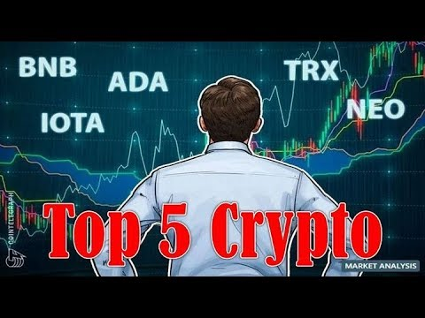 Top 5 Crypto Performers Overview! Binance Coin, Cardano, IOTA, Neo, Tron