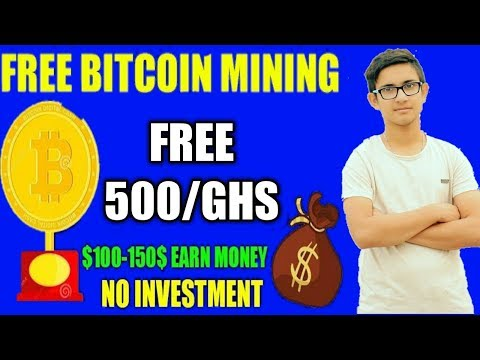 New BTC Mining Site + 500 GHS Free Must Watch