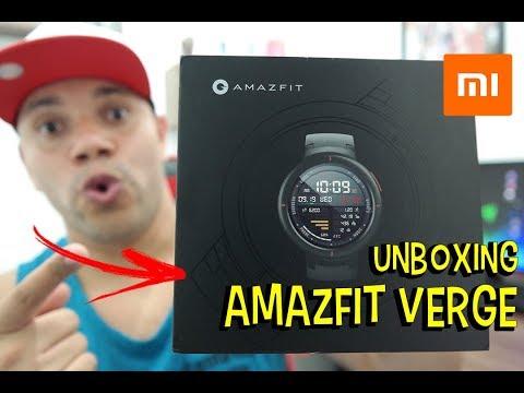 Amazfit Verge O Melhor Smatwatch já feito pela Xiaomi – Unboxing e impressoes