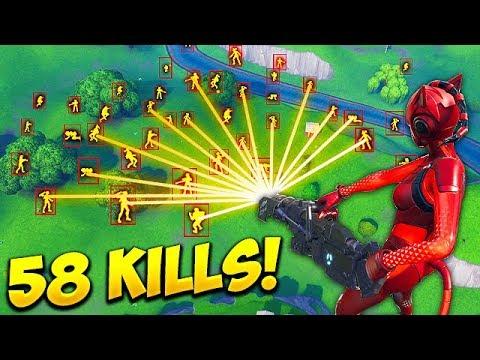 *HACKER* GETS 58 KILLS SOLO! – Fortnite Funny Fails and WTF Moments! #447