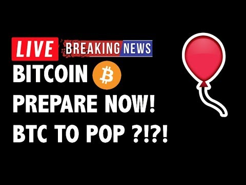 🎈PREPARE! Is Bitcoin (BTC) About to POP?! – Crypto Market Trading Analysis & Cryptocurrency News