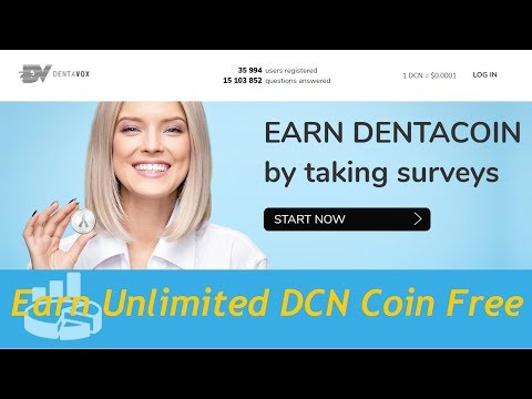 DENTACOIN (DCN) : Earn DENTACOIN by Simple work || Free Bonus 100 DCN || Instant Earn 1100 DCN