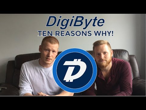Digibyte! Top Ten Reasons We Love Digibyte!