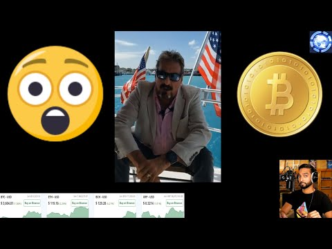 BREAKING John McAfee Flees From IRS | Enjin's In-App Trading | Tron Partners w/ Oracle | TenX Card