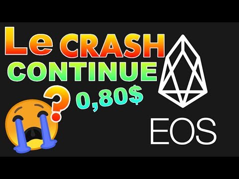 EOS 0,80$ LE CRASH VA CONTINUER !? analyse technique crypto monnaie bitcoin
