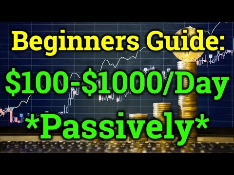 Beginner Method To Make $100-$1000/Day Passive With Cryptocurrency! Bitcoin Trading Binance, Bitmex