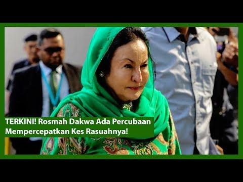 TERKINI! Rosmah Dakwa Ada Percubaan Mempercepatkan Kes Rasuahnya!