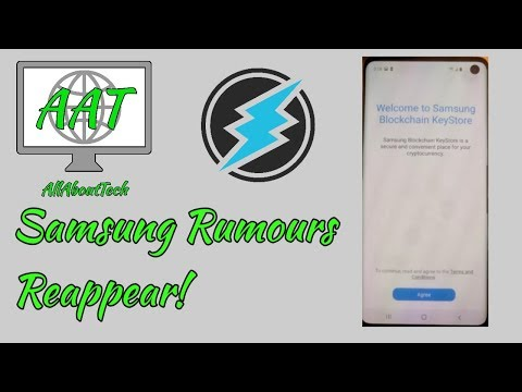 Electroneum Cryptopia Update! Samsung Rumours Reappear! Lets Talk About it!