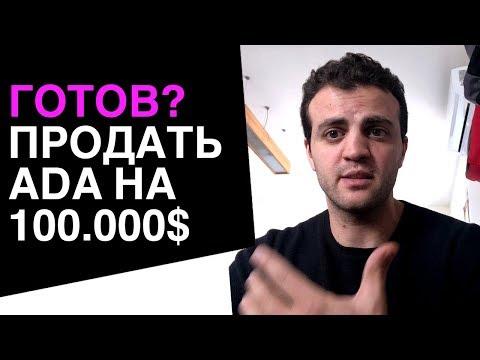 Tы готов? продать ADA, ETH, XRP на 100.000$ есть аккаунт OTC?