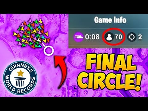 *70 PLAYERS* IN FINAL CIRCLE! *NEW* RECORD! – Fortnite Funny Fails and WTF Moments! #450