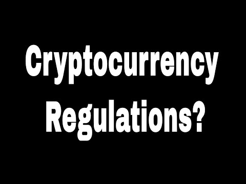 Cryptocurrency Regulations – Should the SEC Regulate