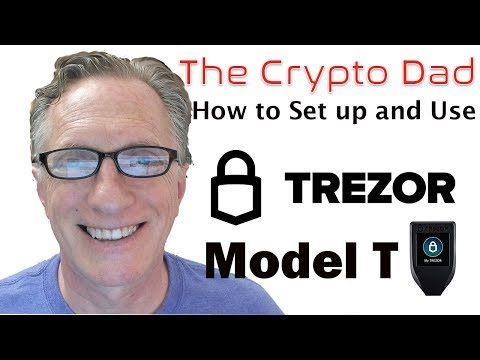 How to Set up and Use the Trezor Model T Cryptocurrency Hardware Wallet