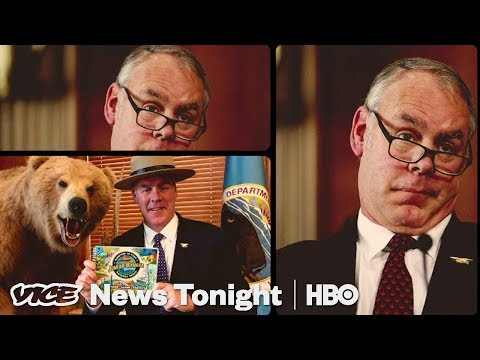 Ryan Zinke Went From Trump's Cabinet To Selling Cryptocurrency (HBO)