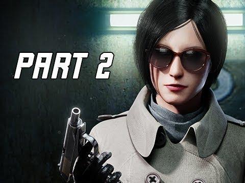RESIDENT EVIL 2 REMAKE Walkthrough Part 2 – ADA WONG (Let's Play RE2 Remake)