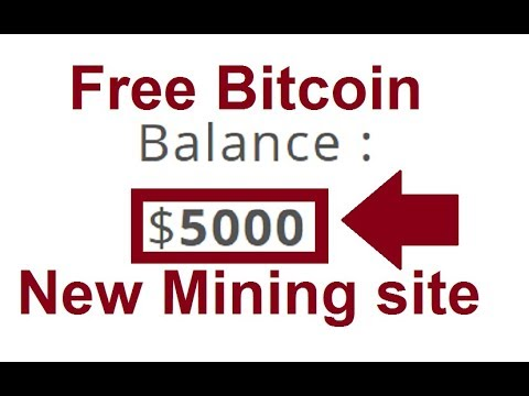 NEW FREE BITCOIN CLOUD MINING SITE 2019 | 20$ Free Bouns | No Investment