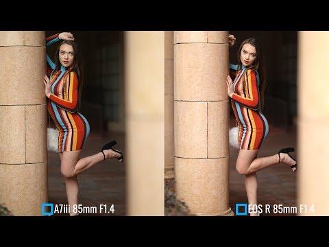 Sony A7iii G Master 85mm F1.4 vs Canon EOS R 85mm F1.4 L w/ @kristenjcounts
